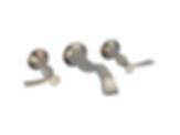 RSVP® Wall-Mount Vessel Lavatory Faucet - Less Handles 65890LF-PCLHP--HL5890-PC