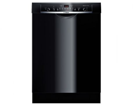 Bosch 24 ' Recessed Handle Dishwasher Ascenta- Black SHE3AR76UC