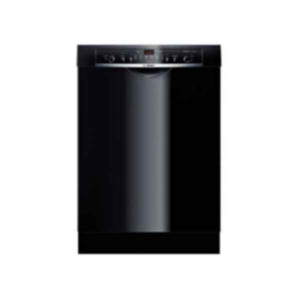 Bosch 24 ' Recessed Handle Dishwasher Ascenta- Black SHE3AR76UC