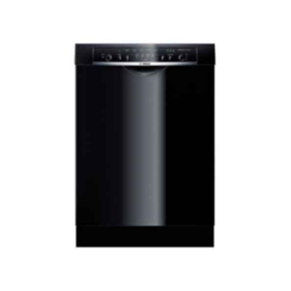 Bosch 24 ' Recessed Handle Dishwasher Ascenta Series- Black SHE3ARF6UC