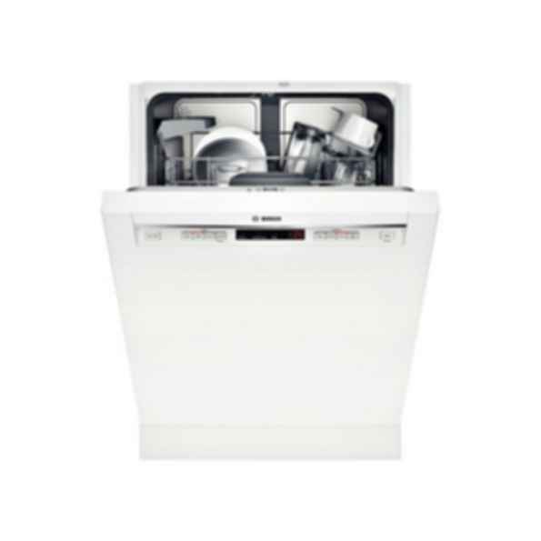 "24"" Recessed Handle Dishwasher 300 Series - White SHE53TF2UC"
