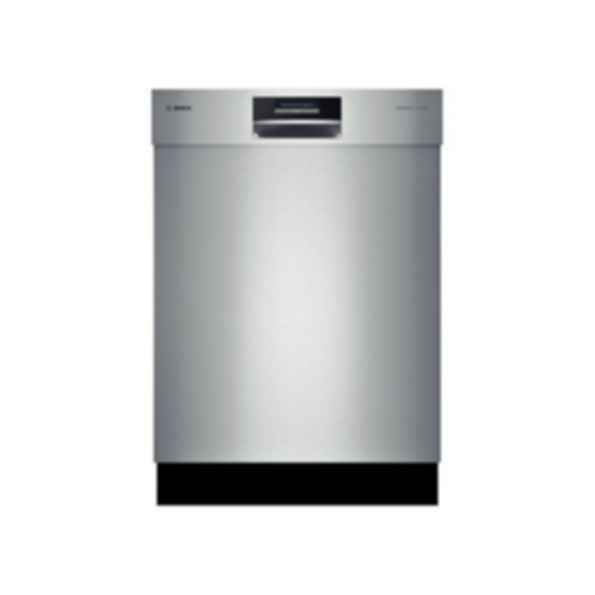 "Bosch 24"" Recessed Handle Dishwasher 800 Plus Series- Stainless steel SHE8PT55UC"