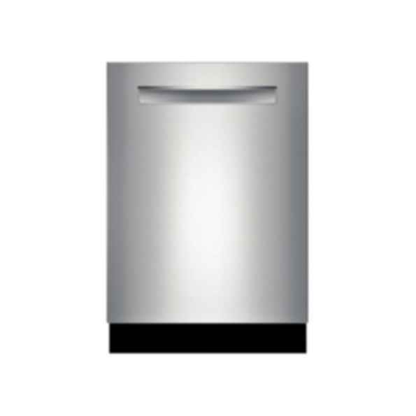 """Bosch 24"""" Flush Handle Dishwasher 300 Series- Stainless steel SHP53T55UC"""