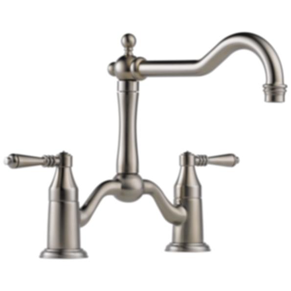 Tresa 174 Two Handle Bridge Kitchen Faucet 62436lf Modlar Com
