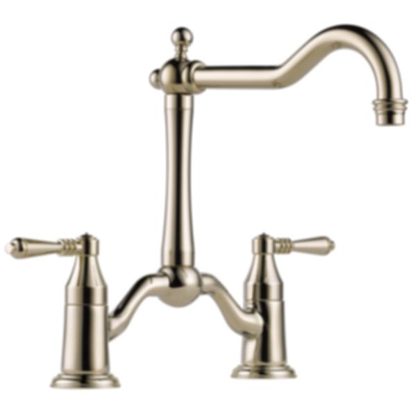 Tresa® Two Handle Bridge Kitchen Faucet 62436LF