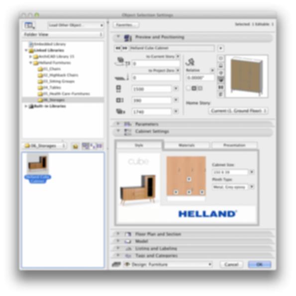 Helland storage units