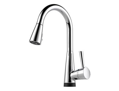 Venuto Single Handle Pull Down Bar Prep Faucet With