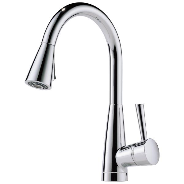 Artesso Single Handle Pull Down Kitchen Faucet