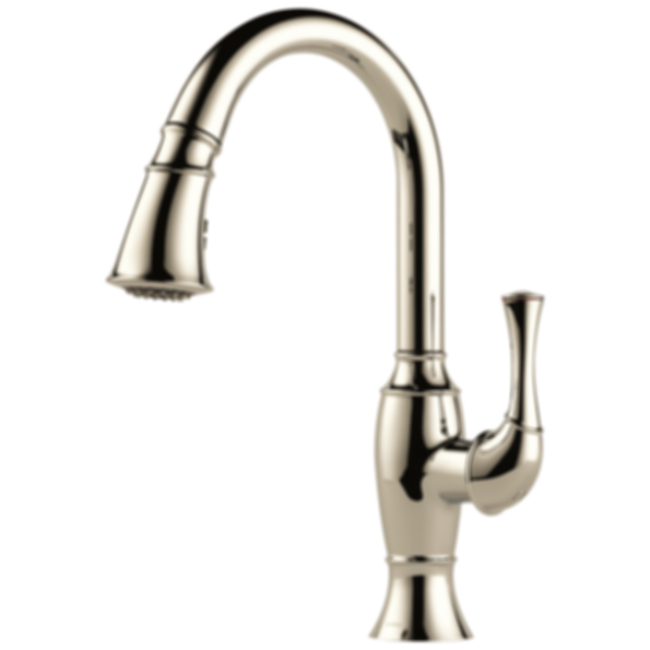 Talo® Single Handle Pull-Down Kitchen Faucet 63003LF