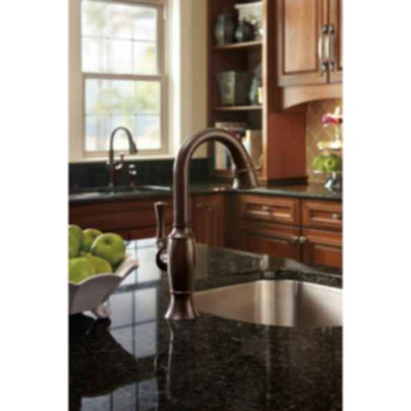 Talo® Single Handle Pull-Down Prep Faucet 63903LF