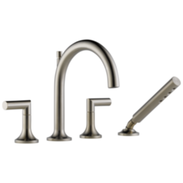 Odin 4-Hole Roman Tub Faucet with Hand Shower T67475
