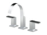 Siderna® Widespread Lavatory Faucet - Less Handles 65380LF-PCLHP--HL5382