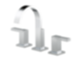 Siderna® Widespread Lavatory Faucet - Less Handles 65380LF-PCLHP--HL5380