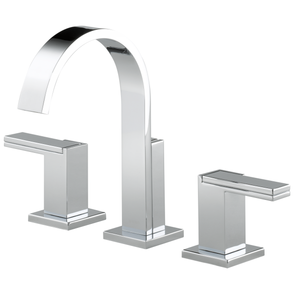 Siderna widespread lavatory faucet less handles 65380lf for Bathroom faucets for less