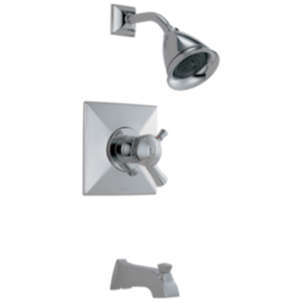 Vesi TempAssure® Thermostatic Tub/Shower Trim T60440-PC