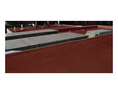 Roof TPO: Insulated Gypsum Deck