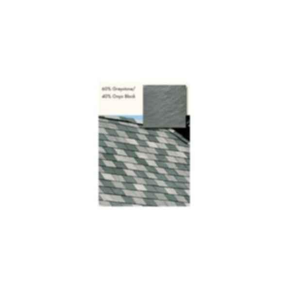Slate Roofing, TruSlate Eco Green, 80% GreyStone, 20% Onyx Black