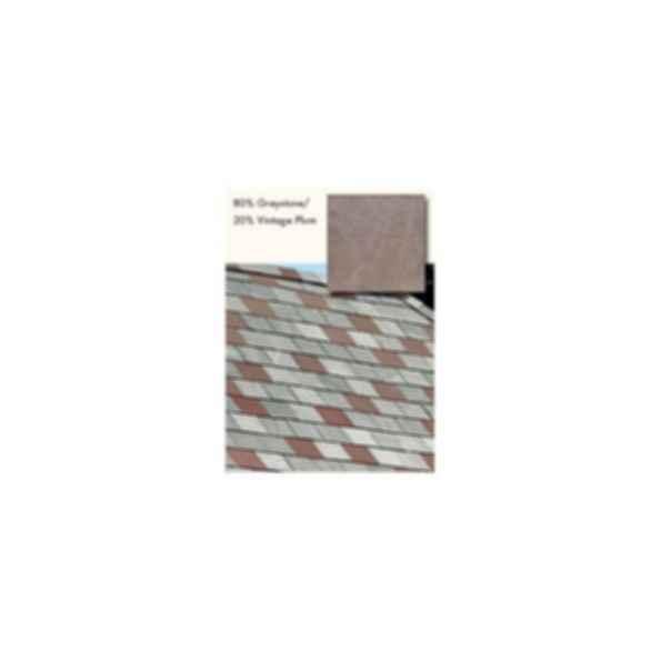 Slate Roofing, TruSlate Greystone, 80% GreyStone, 20% Vintage Plum