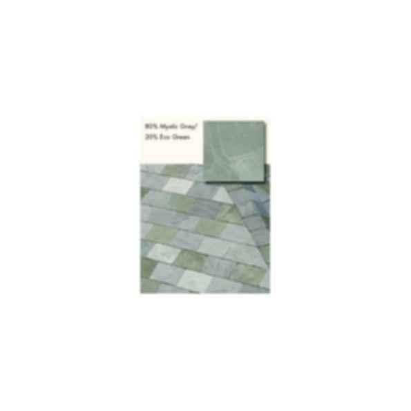 Slate Roofing, TruSlate Mystic Grey, 80% Mystic Grey, 20% Eco Green