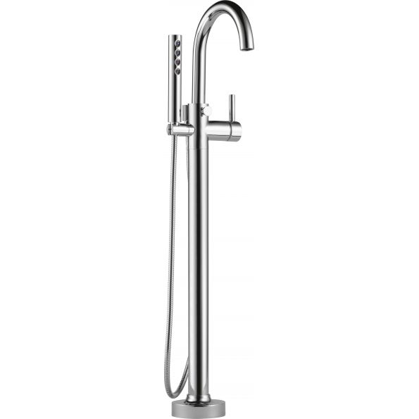 odin floormount tub filler trim t70175pc