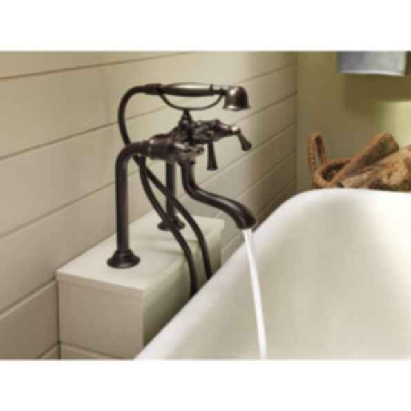 Baliza® Two-Handle Tub Filler Trim Kit T70305-PC--T70210-PCLHP--RP73764PC