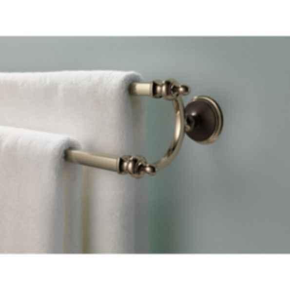 "Charlotte® 24"" Double Towel Bar 692585"