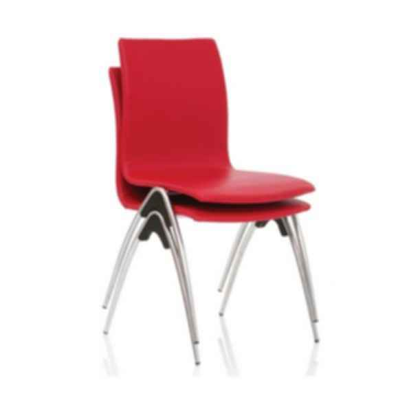 Calm Upright Stacking Chair