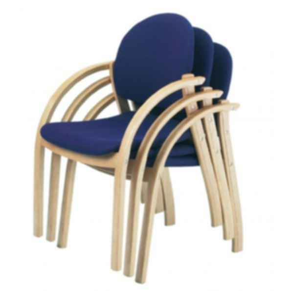 Delta Stacking Chair