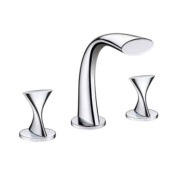 Ultra Faucets Two Handle Widespread Deck Mount UF55510