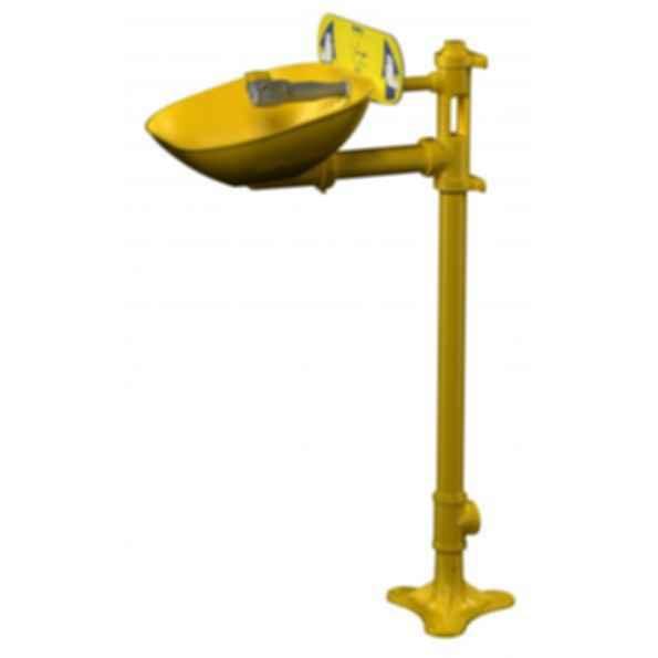 Halo Pedestal Eye-Wash Systems - Plastic Bowl