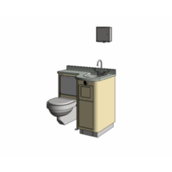 Lc840 Fixed Water Closet Bed Pan Washer Comby Modlar Com
