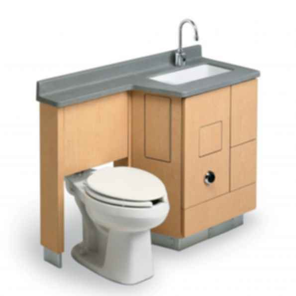 LC800 - Lavatory, Fixed Water Closet Comby
