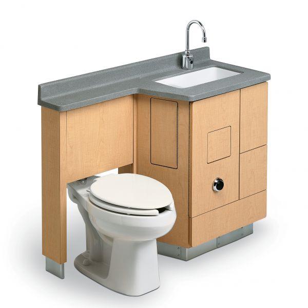 Lc800 Lavatory Fixed Water Closet Comby Modlar Com