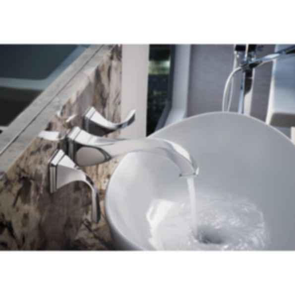 Virage® Two Handle Wall-Mount Lavatory Faucet 65830LF