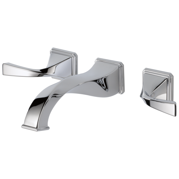 Virage 174 Two Handle Wall Mount Lavatory Faucet 65830lf