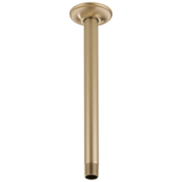 "Brizo 10"" Ceiling Mount Shower Arm and Flange RP48986"