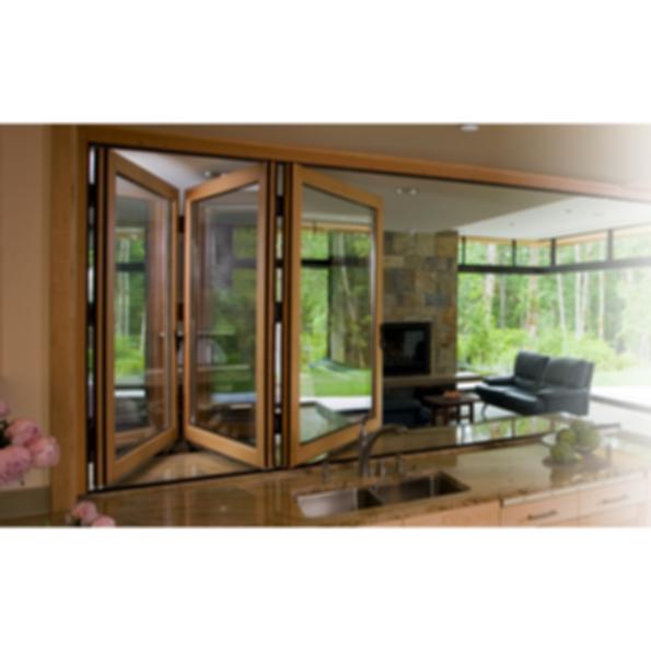 Nanawall folding glass walls wd65 for Folding glass walls
