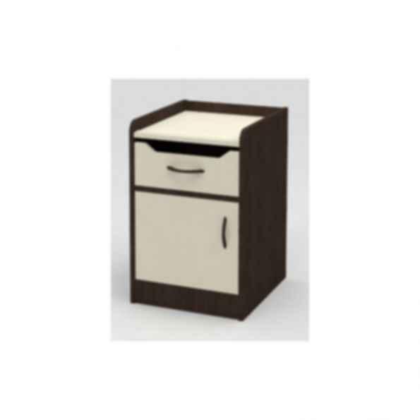 Caspia One Door One Drawer Bedside Cabinet