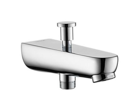 Elemetro tub spout with hand shower diverter - modlar.com