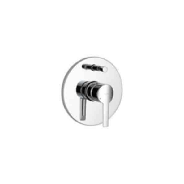 Compel monitor series push botton diverter valve only trim