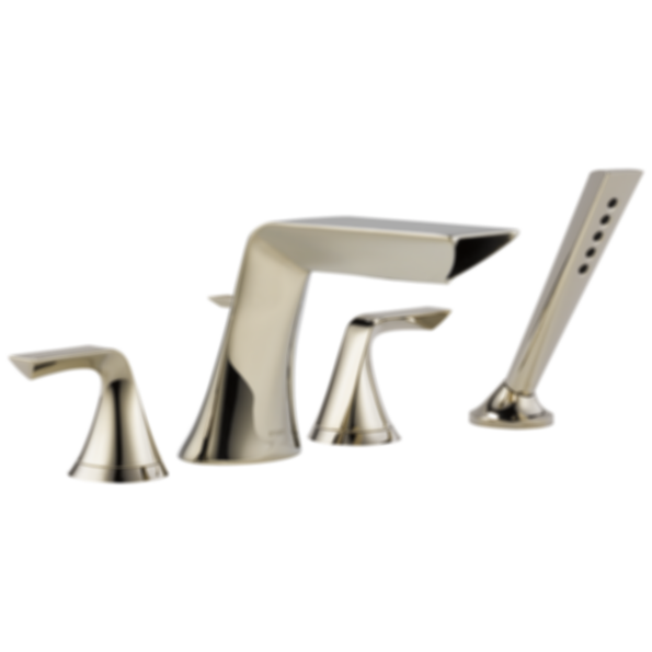 Sotria® 4-Hole Roman Tub Faucet with Handshower T67450