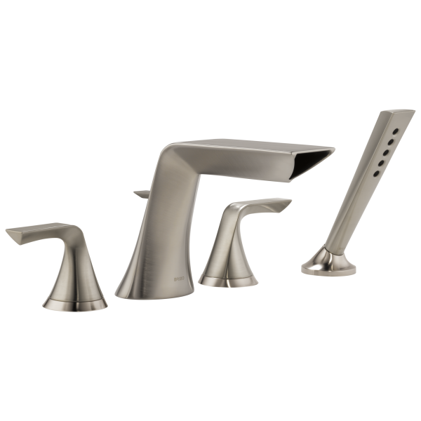 Sotria 174 4 Hole Roman Tub Faucet With Handshower T67450