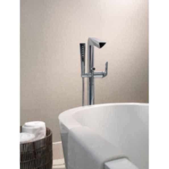 Sotria 174 Freestanding Floor Mount Tub Filler T70150