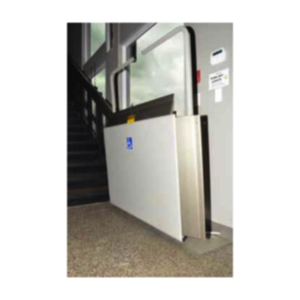 Wheelchair lifts inclined platform lifts x press ii for Www garaventalift com