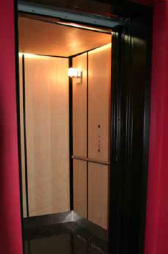 Home elevators elvoron stella for Www garaventalift com