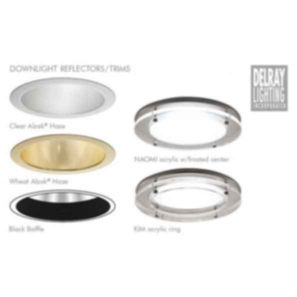 H7.5200 Horizontal Downlight by Delray Lighting