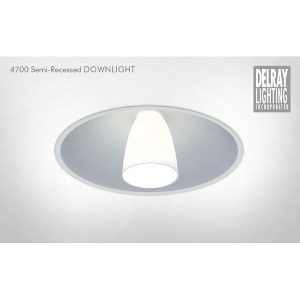 4700 semi recessed downlight by delray lighting modlar 4700 semi recessed downlight by delray lighting mozeypictures Choice Image