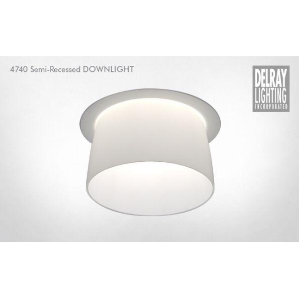 4740 Semi Recessed Downlight By Delray Lighting Modlar