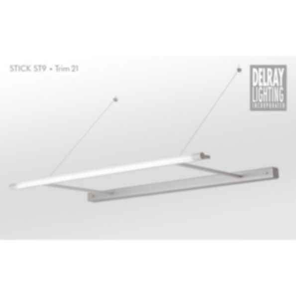 Stick ST9 Cantilever, Trim 21, by Delray Lighting