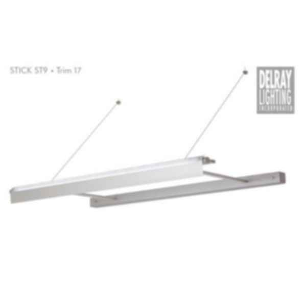 Stick ST9 Cantilever, Trim 17, by Delray Lighting